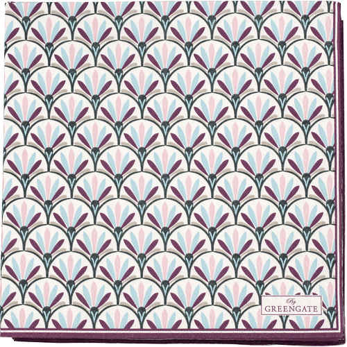 GreenGate Pappersservetter - Paper Napkins Large Victoria White 20 st fc3cea6425085