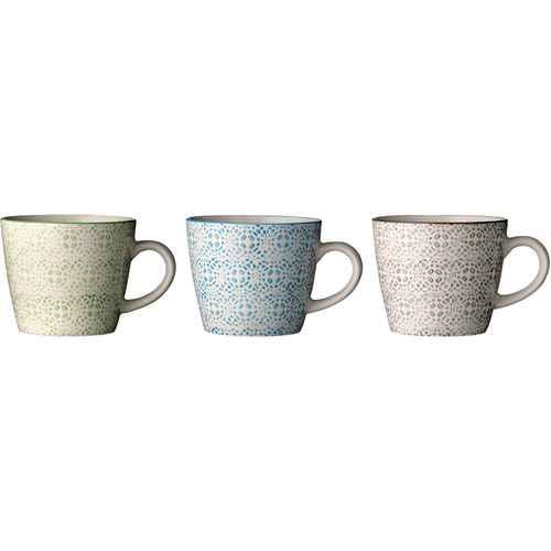 Bloomingville Isabella Muggar med mönster - Set med 3 e68d530d70778